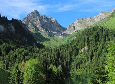 Lake Plagnes Discovery trail