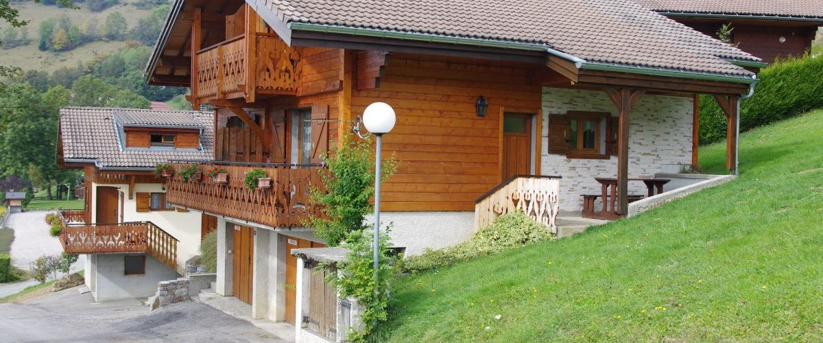 Apartment n°03 in chalet - 50m² - 2 bedrooms - Birraux Vacances (Birraux André)