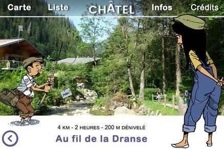 Explore Châtel with Chloé