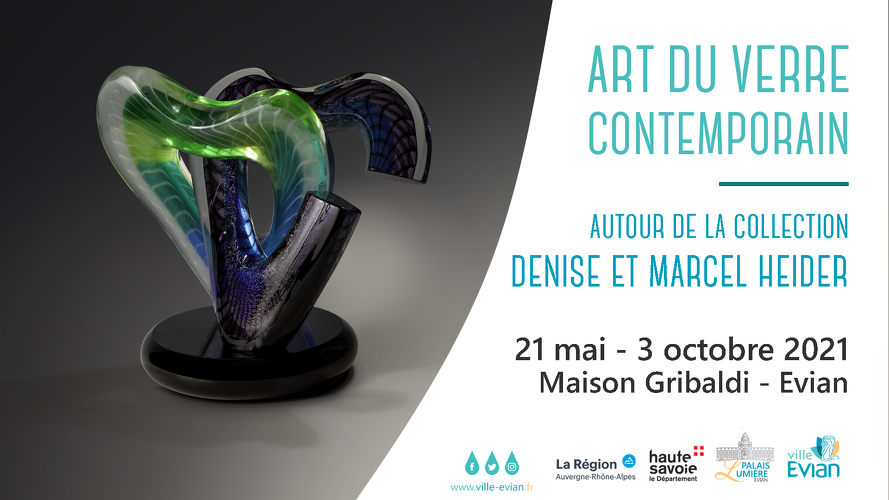 Exhibition « Contemporary Glass Art » around the Denise and Marcel Heider collection